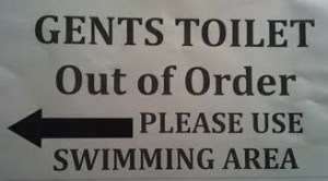 please poop in pool
