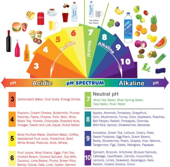 acidic-alkaline-phchart