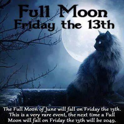 full moon friday