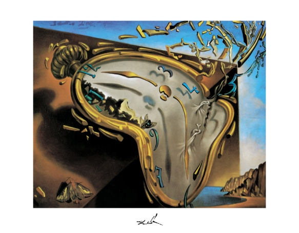 "Salvador Dali ""Melting Clock"""