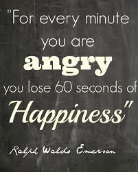 anger robs happiness